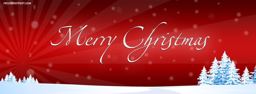 Merry Christmas 2017 Facebook Cover Photos