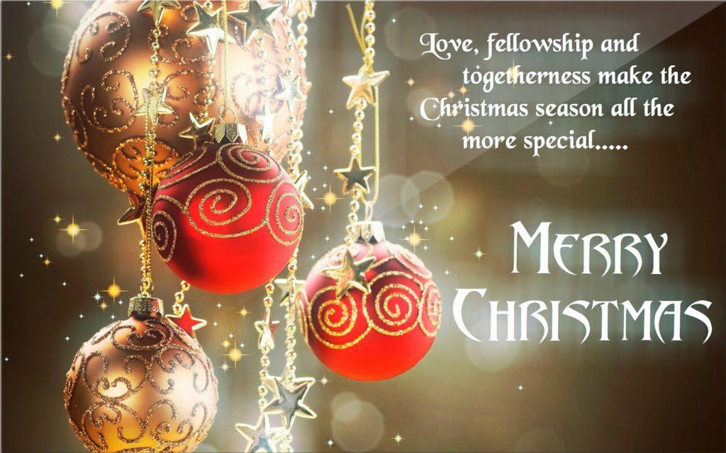merry christmas status