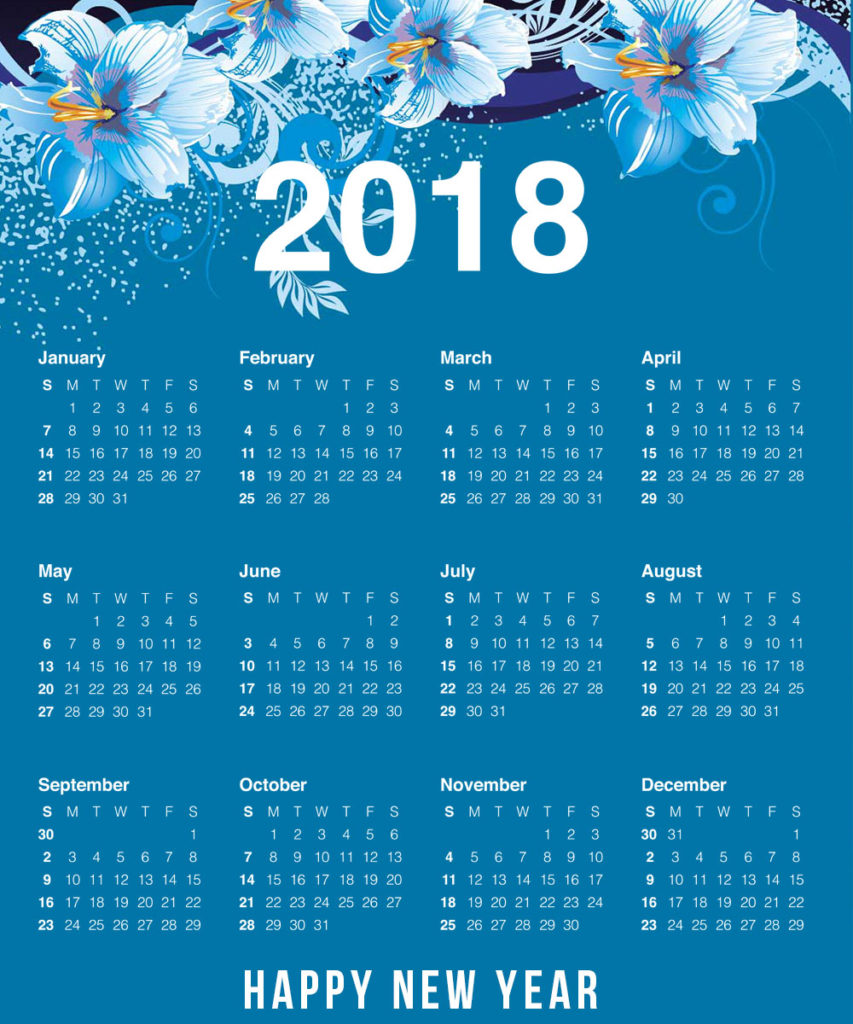 Year Calendar To Download : New year calendar download printable