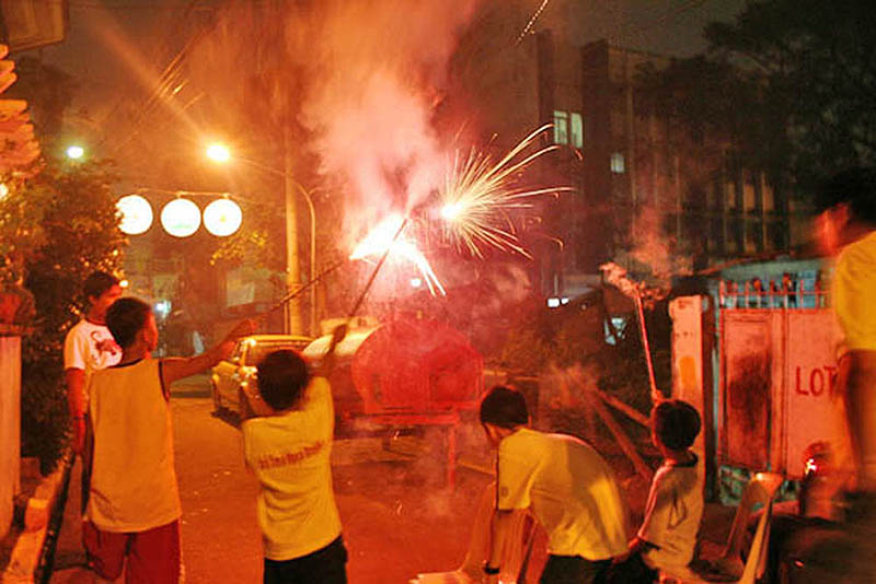 New Year 2019 Celebration in Philippines
