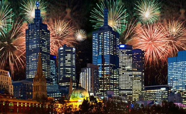 new year 2019 countdown videos images live moment in melbourne australia