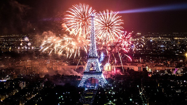 New Year 2019 Eve Celebration at Paris
