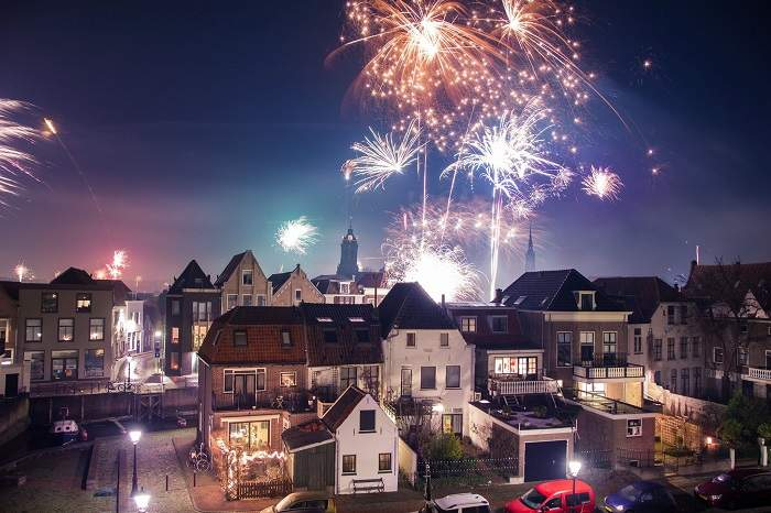 New Year Celebration in Netherland