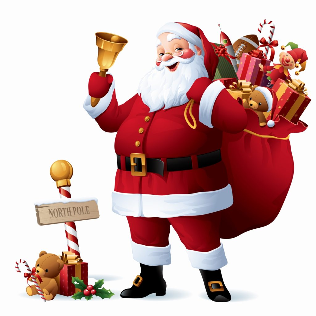 Santa Claus Image for Whatsapp