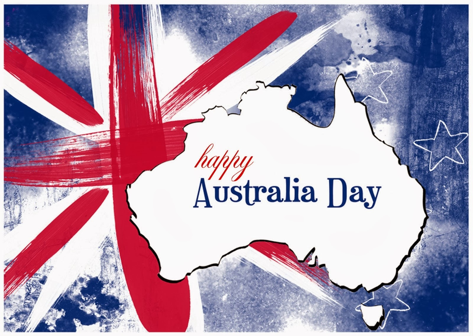 Happy Australia Day Cards Australia Flag Images Greeting Cards