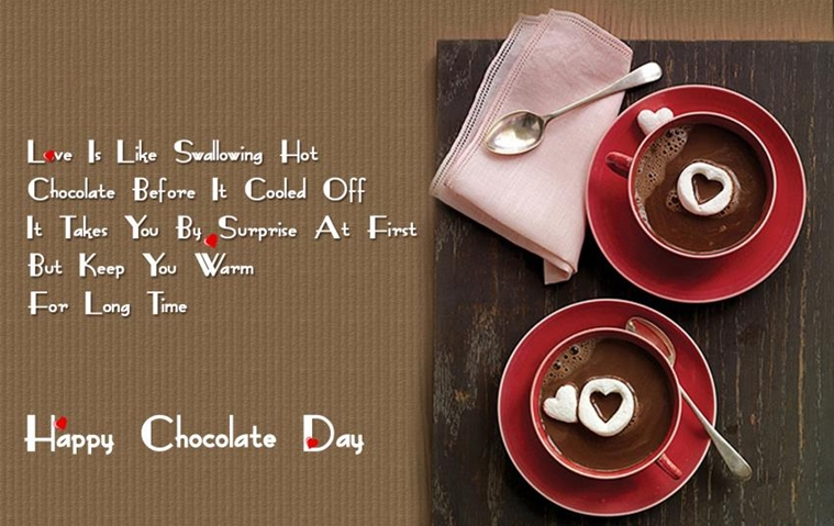 Chocolate Day Wishes, Messages, SMS, Quotes, Greetings, Cards, Gift Cards 2018 for GF, BF, Lovers, Crush, Fiance, Wife & Husband