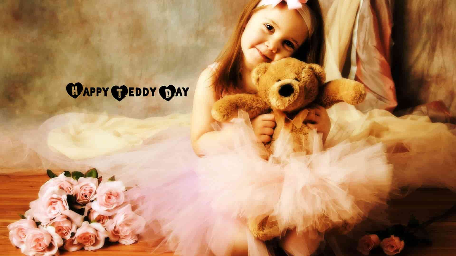 Cute Teddy Day Images with Love