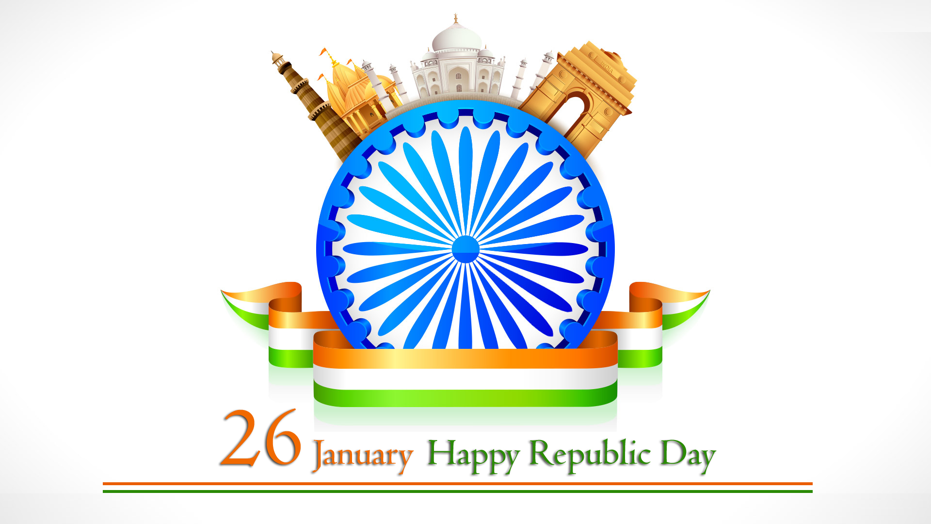 Happy 70th Republic Day 2019 Image