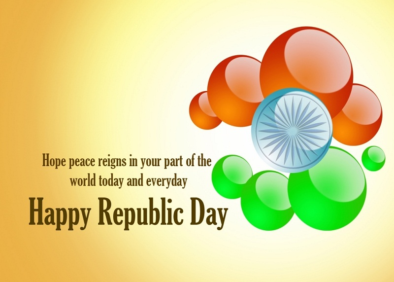 Happy 69th Republic Day Short Status on 26th January