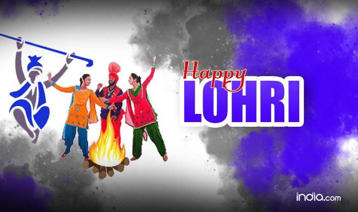 Happy Lohri 2018 Greeting Cards
