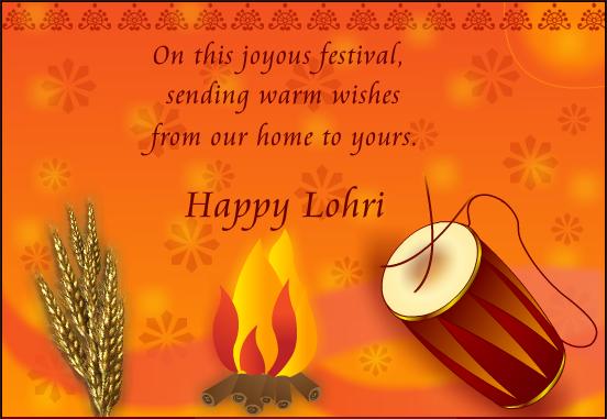 Happy Lohri 2018 Wishes in Punjabi, Hindi & English Fonts