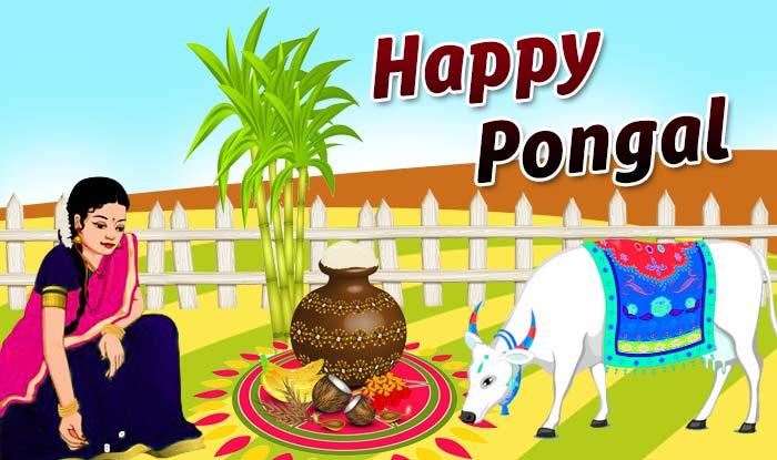 Happy Pongal 2018 HD Image