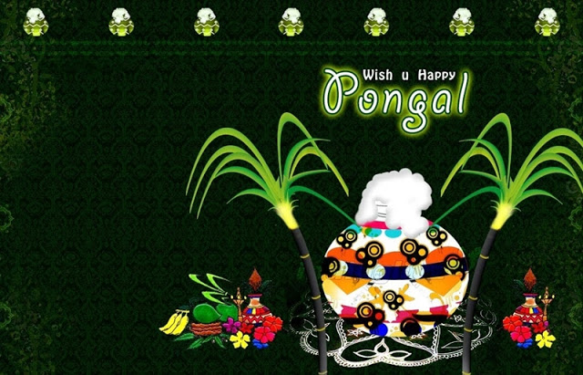 Happy Pongal 2018 Short Whatsapp Status in Tamil, Hindi, Marathi & Malayalam font