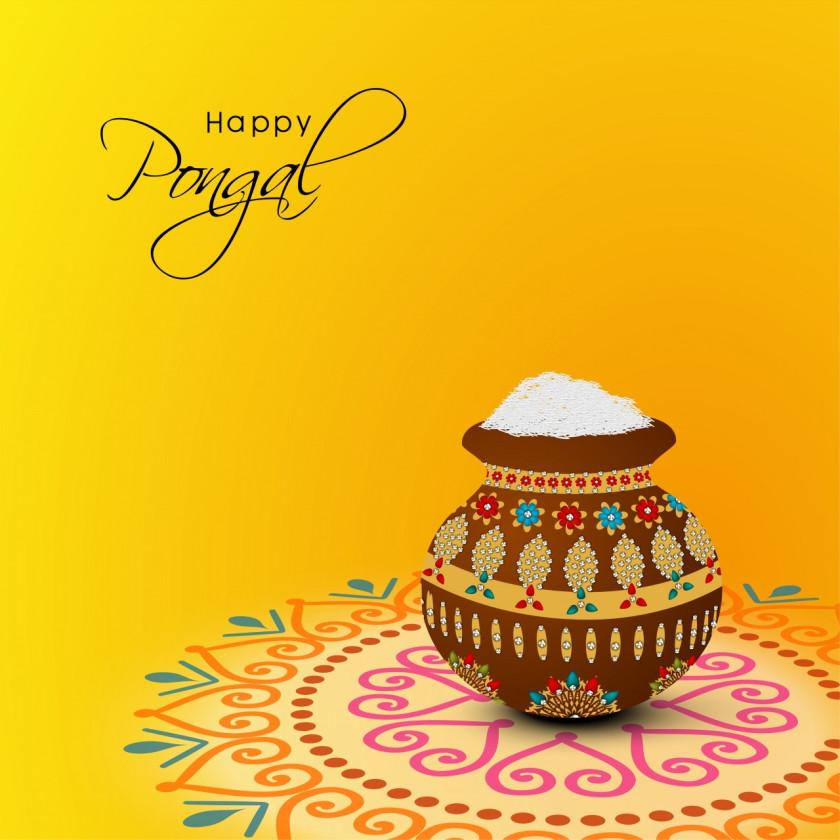 Happy Pongal 2018 Whatsapp DP