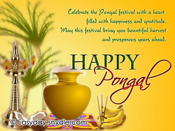 Happy Pongal 2018 Wishes in Tamil, Telugu, Marathi, Hindi, Malayalam & English