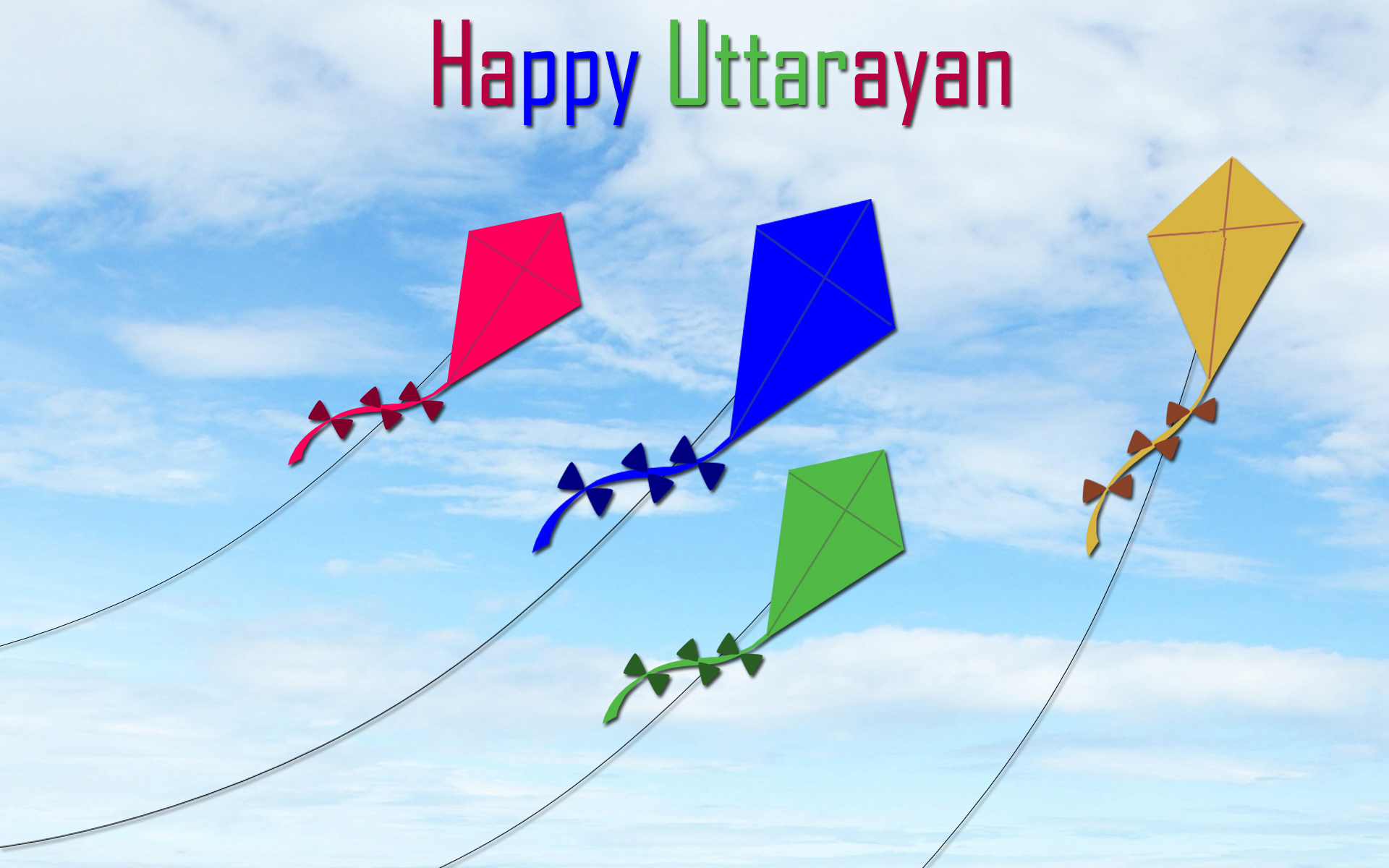 Happy Uttrayan 2018 Image for Whatsapp