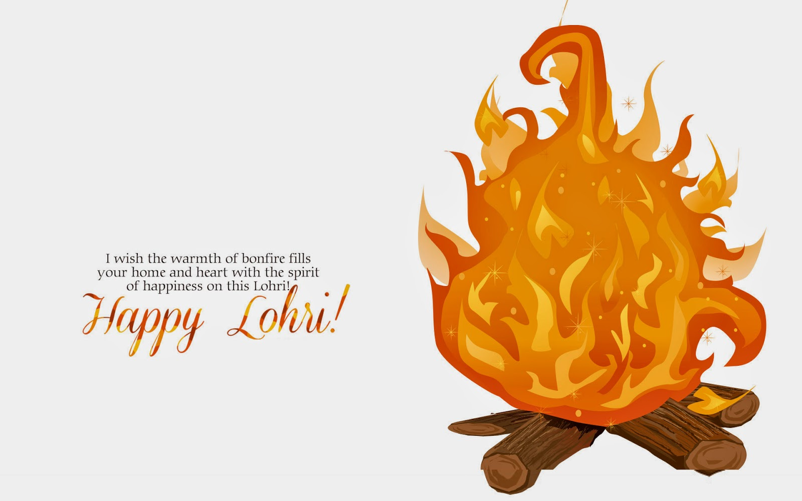 Lohri Greeting Card