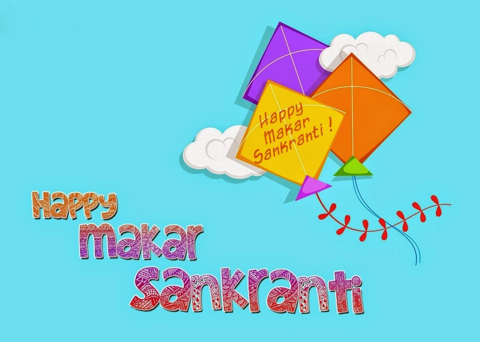 Makar Sankranti 2018 Image for Facebook