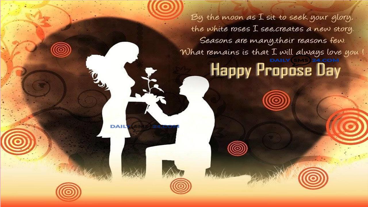 Propose Day 2019 Short Status for Girlfriend, Boyfriend, Crush, Fiance & Lovers
