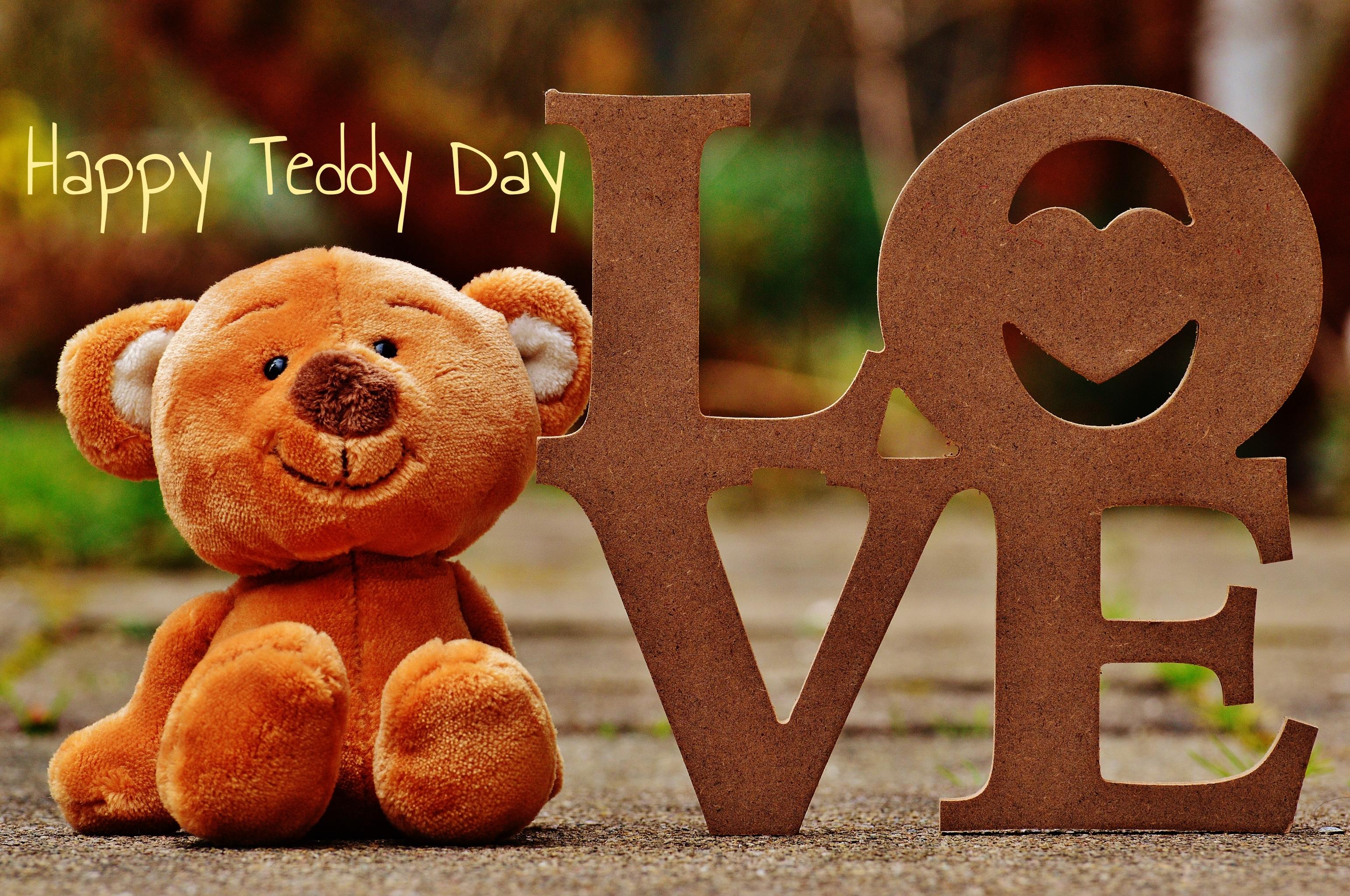Teddy Day Image with Love for Girlfriend, Boyfriend & Crush