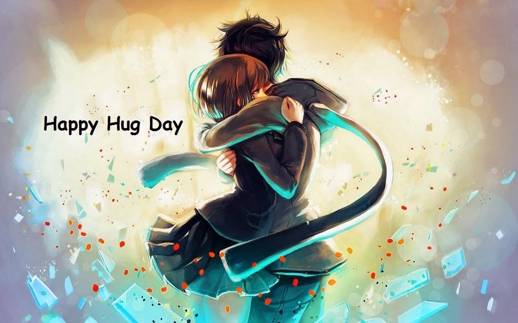 Cute Hug Day Image for Girlfriend & Boyfriend
