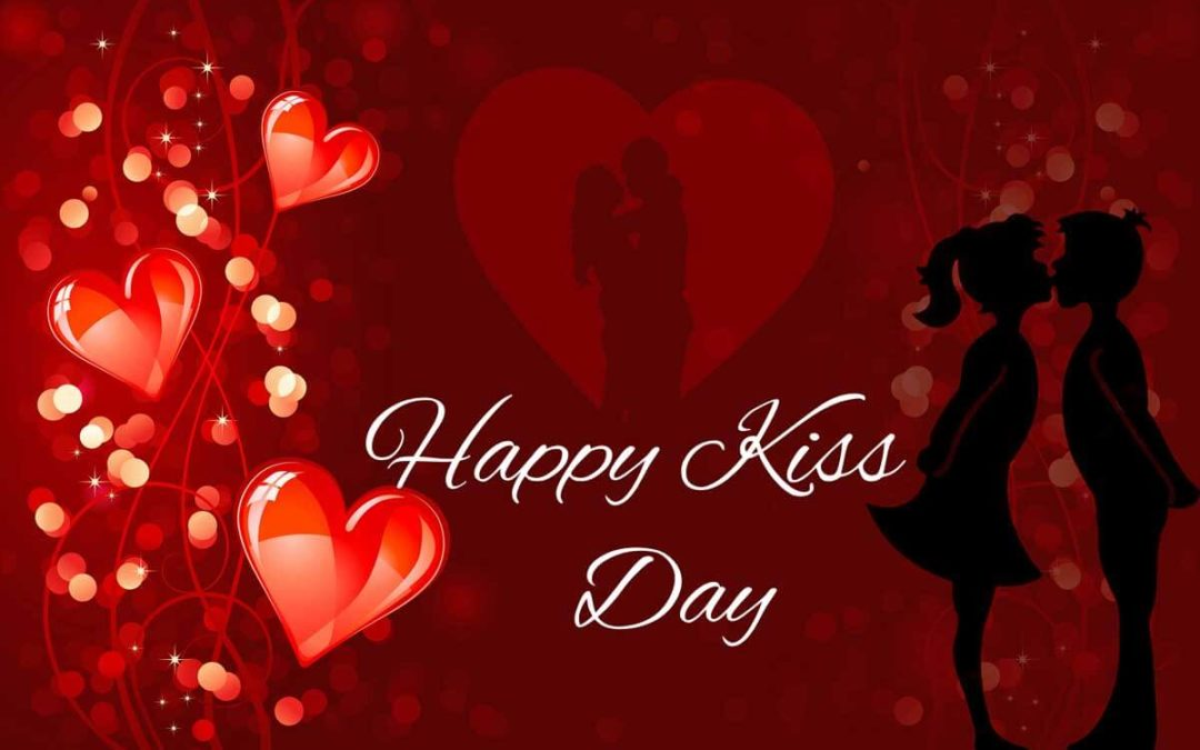 Happy Kiss Day 2018 Status for Whatsapp & Facebook in Hindi & English