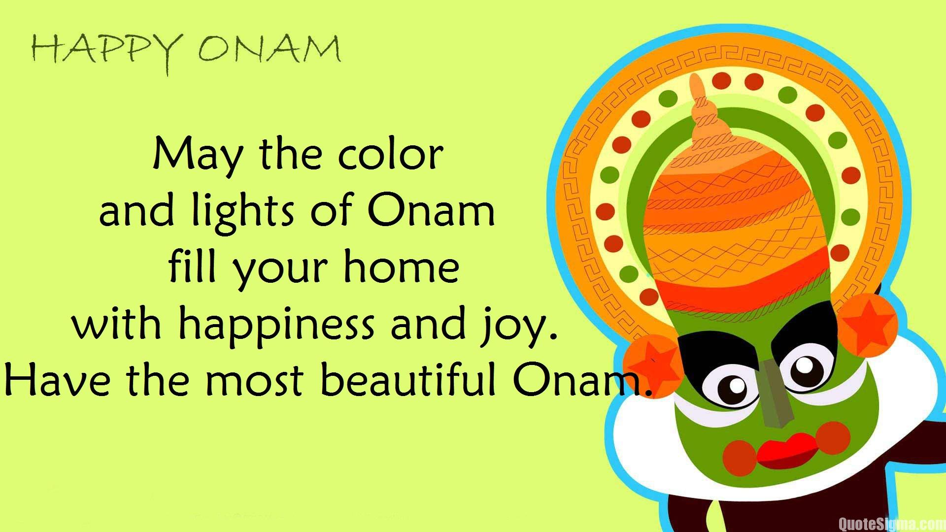 Happy Onam 2019 Wishes