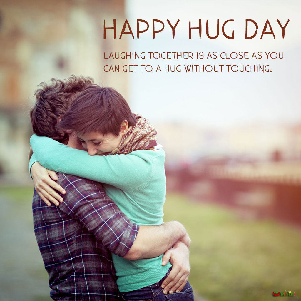 Hug Day Greetings Wishes