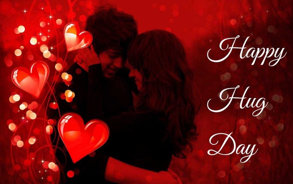 Hug Day Image with Love