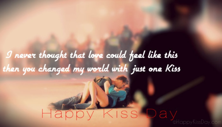 Kiss Day Image for Crush, Fiance & Lovers