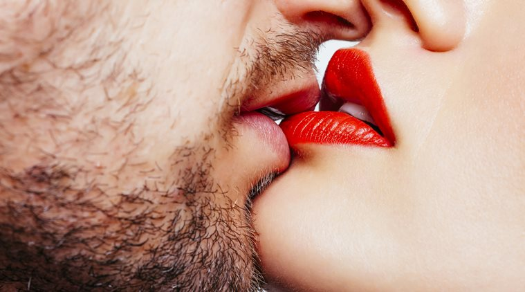 Kiss Day Image with Lip for GF & BF