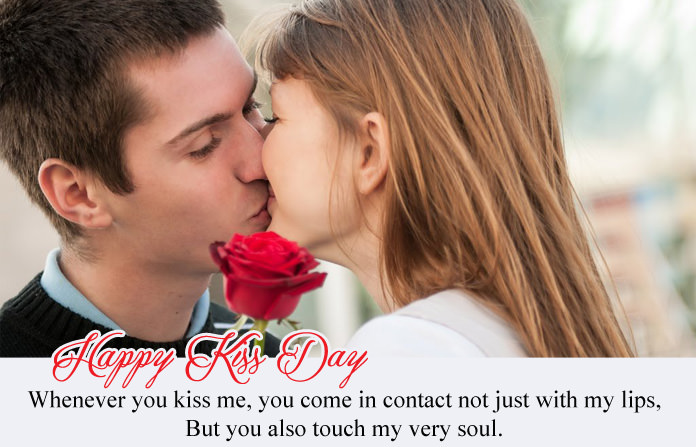 Kiss Day Images with Love