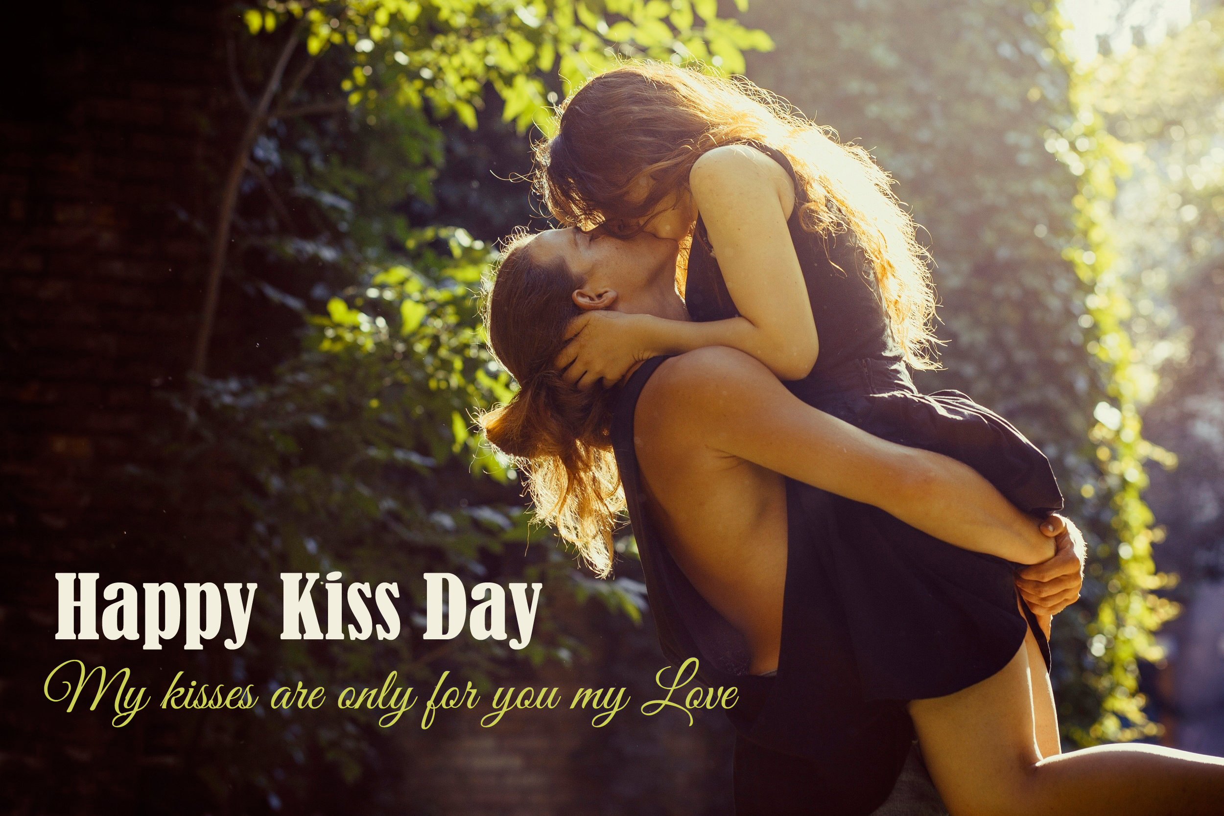 Kiss Day Pics for Lovers