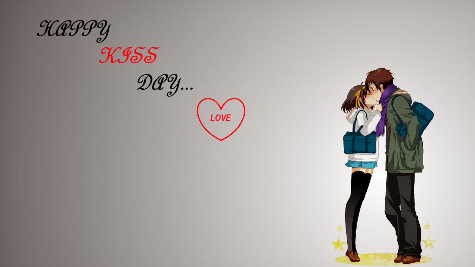 Happy Kiss Day Image