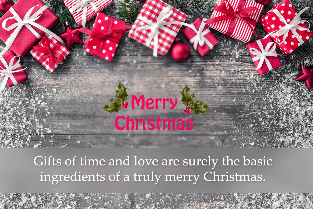 Merry Christmas 2019 Wishes & Messages for Family