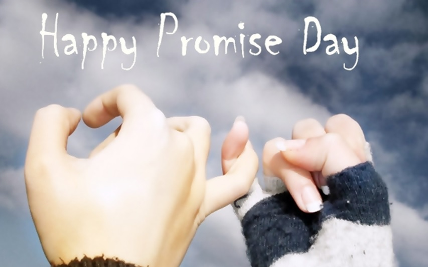 Promise Day 2020 2 Line Status with Love in Hindi & English