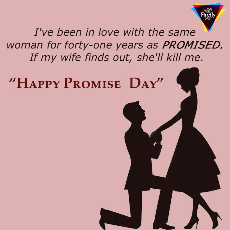 Promise Day 2018 Greeting Card