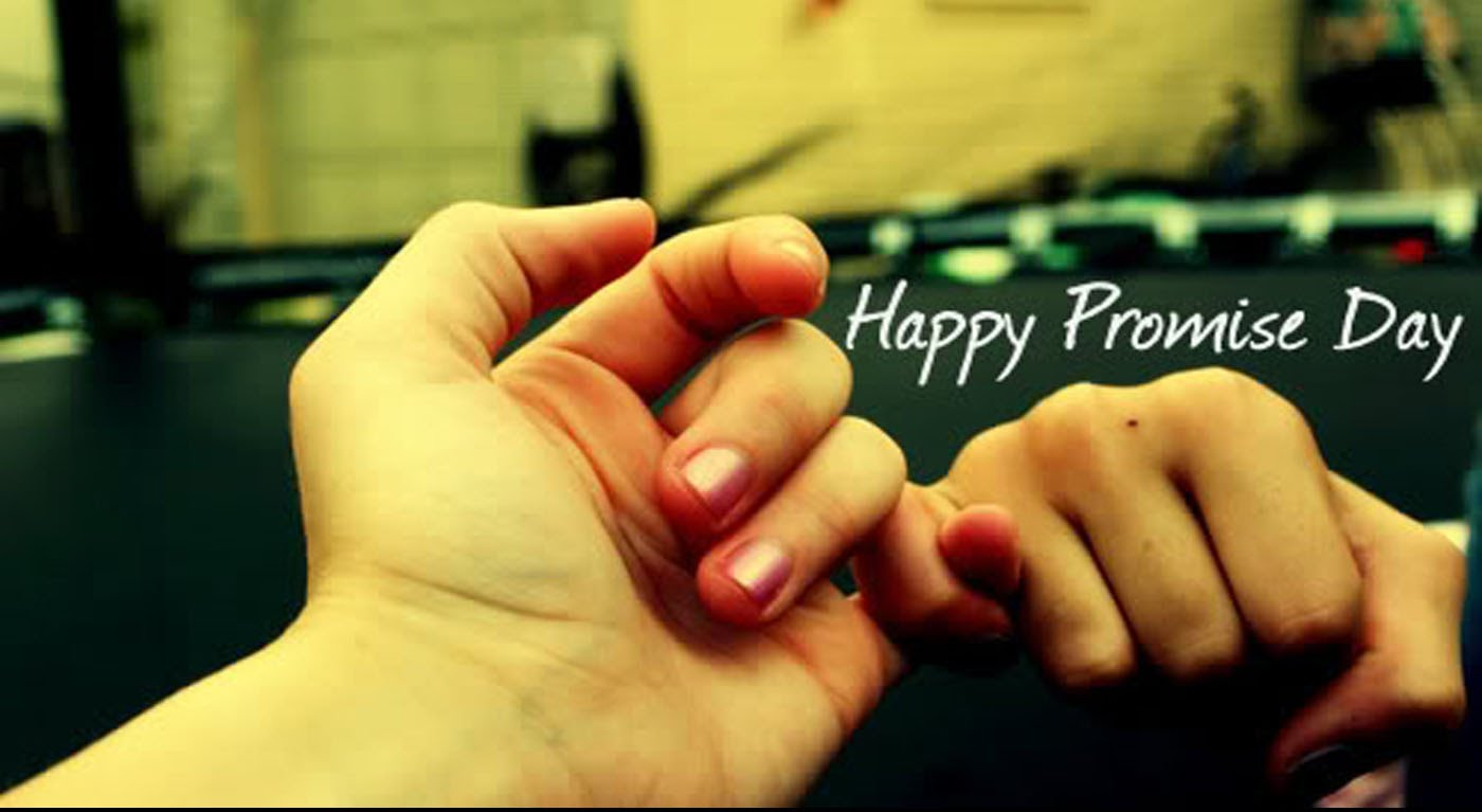 Promise Day Greeting Card for Lovers