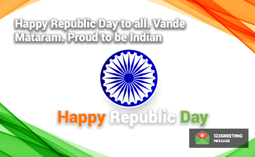 Republic Day SMS 2020