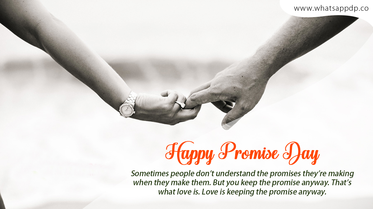 Romantic Promise Day Images for GF & BF