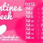 Valentine Week List 2018 Dates Days Timetable Calendar Schedule