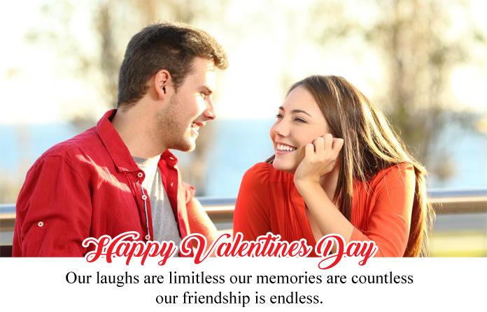 Valentines Day Wishes for Girlfriend & Boyfriend