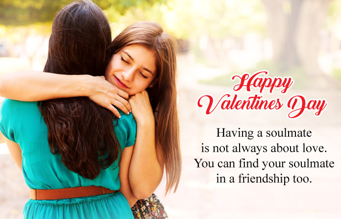 Valentines Day Wishes with Girl & Boy
