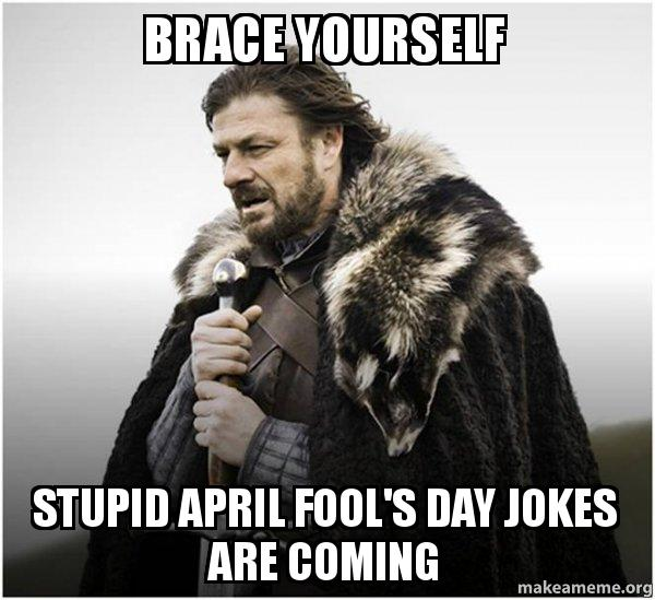 April Fool Day Funny Meme
