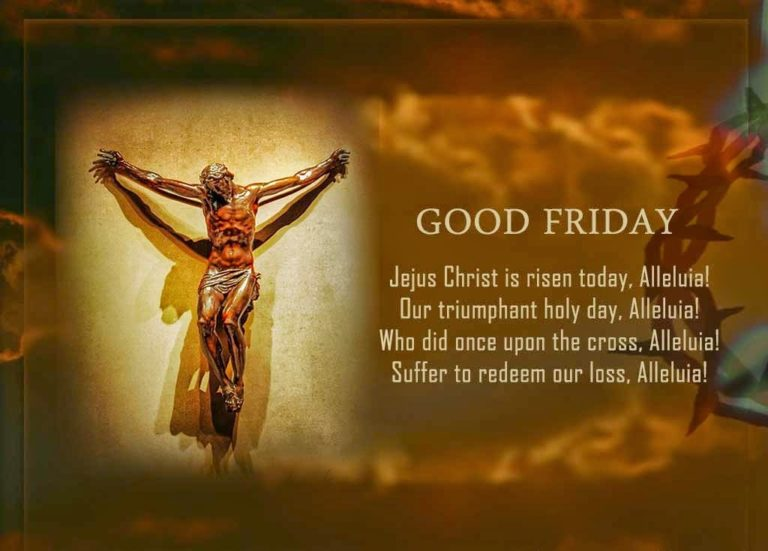 Good Friday 2018 Greeting Cards