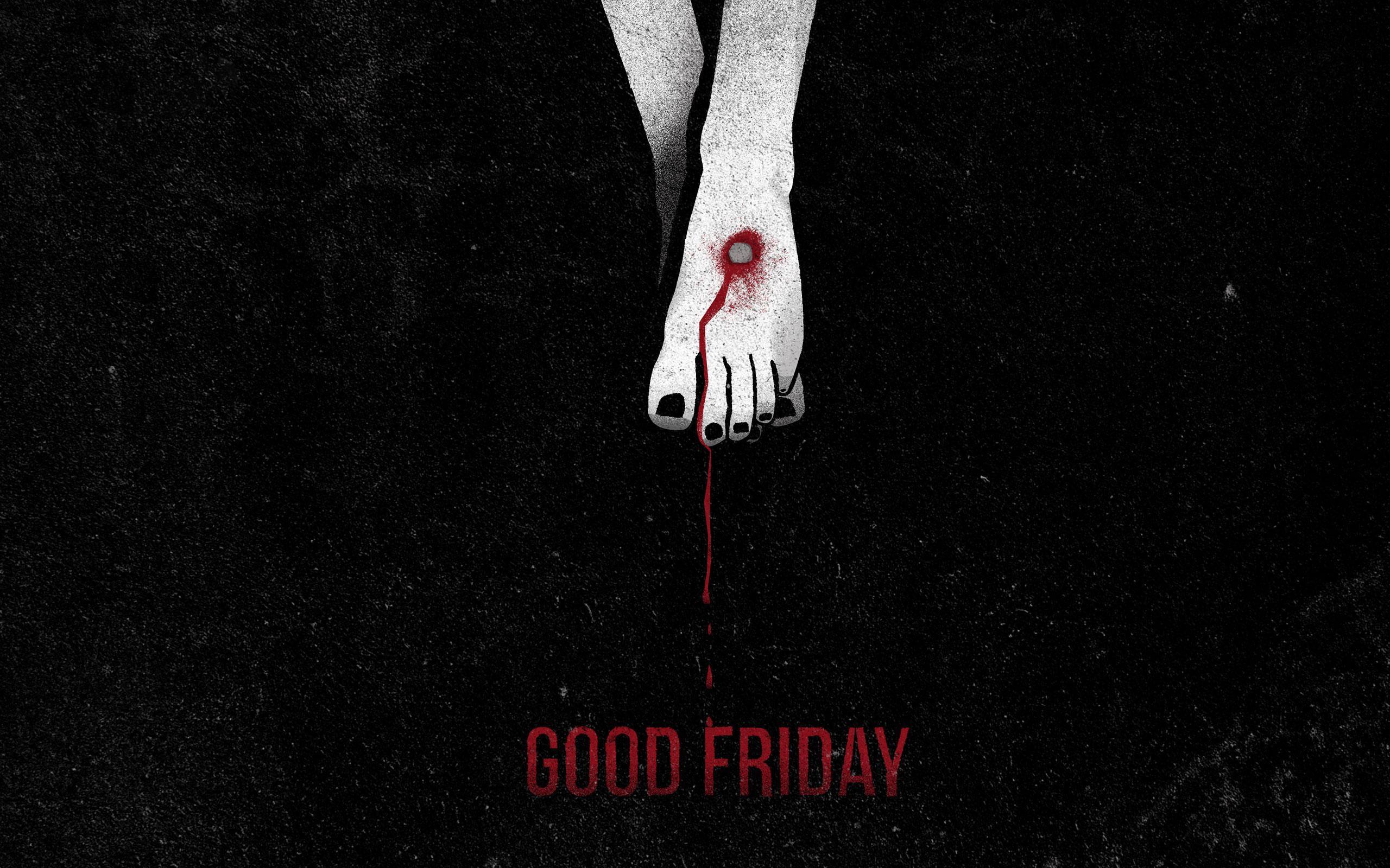 Good Friday Jesus Christ Leg Nailed Image
