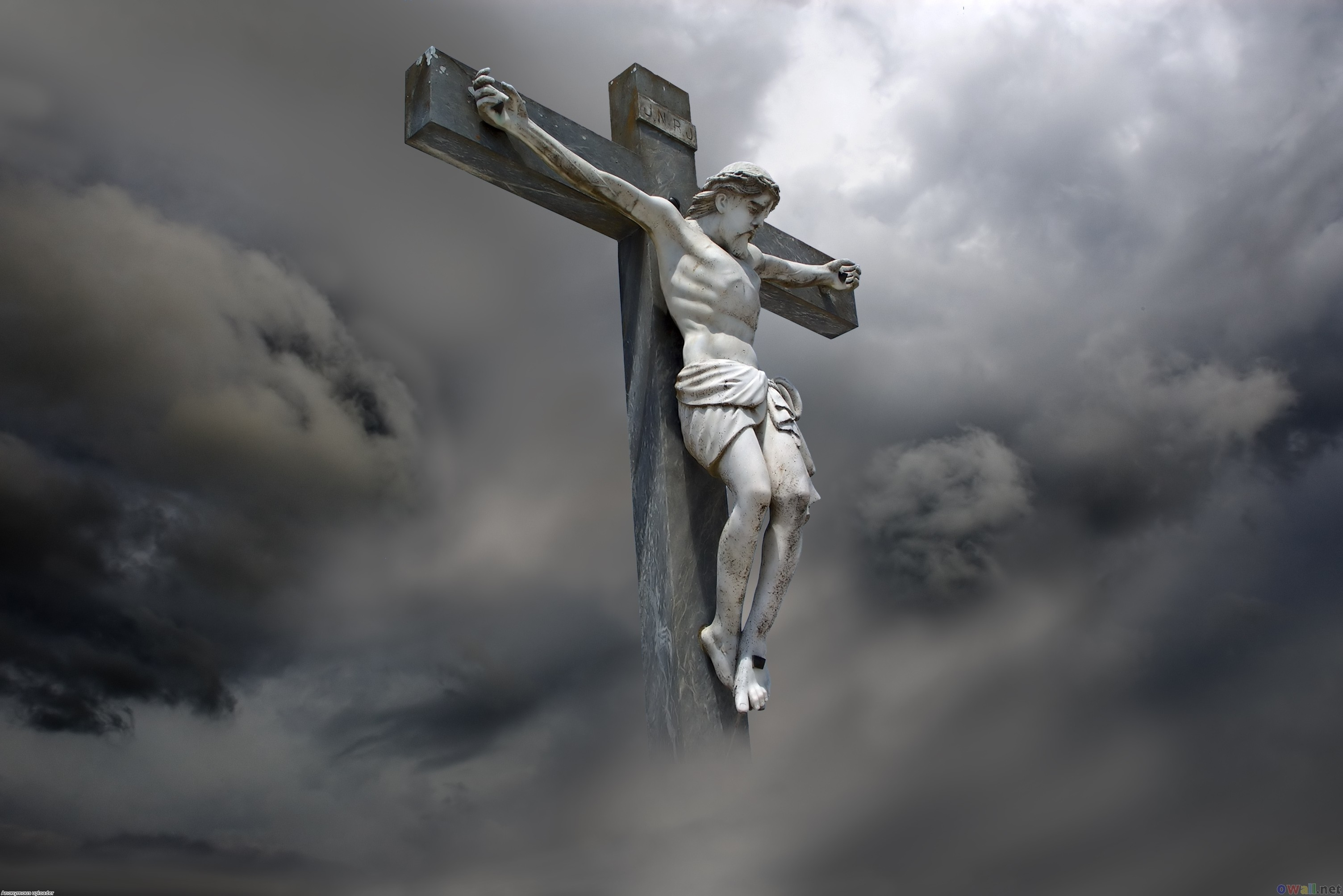 Good Friday Jesus Statie Image