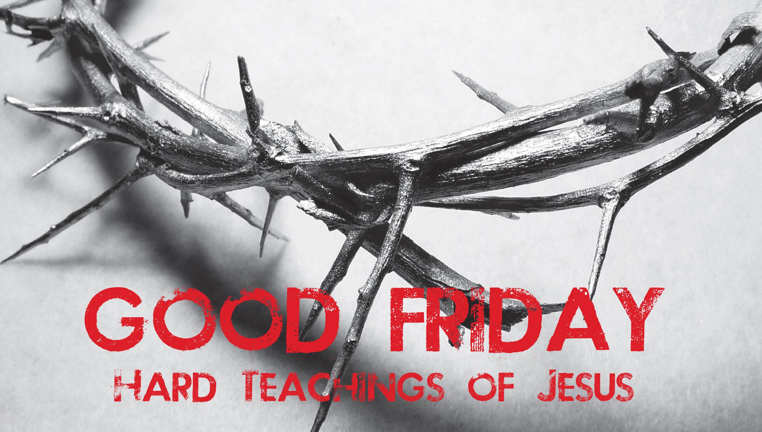 Good Friday Thorn Of Jesus Image