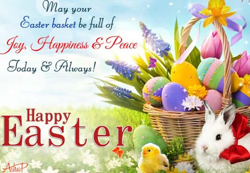 Happy Easter 2019 2 Line Status