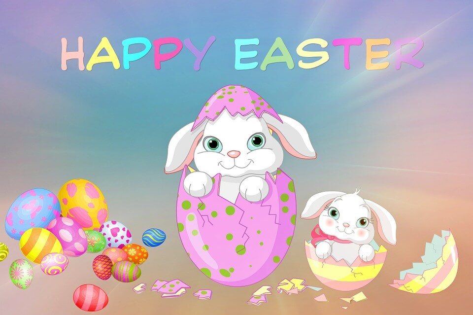 Happy Easter 2018 Card